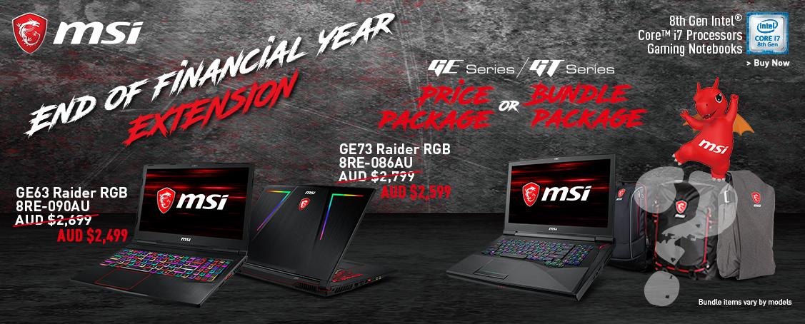Eofy Nb Special Sales 2018 Msi Australia