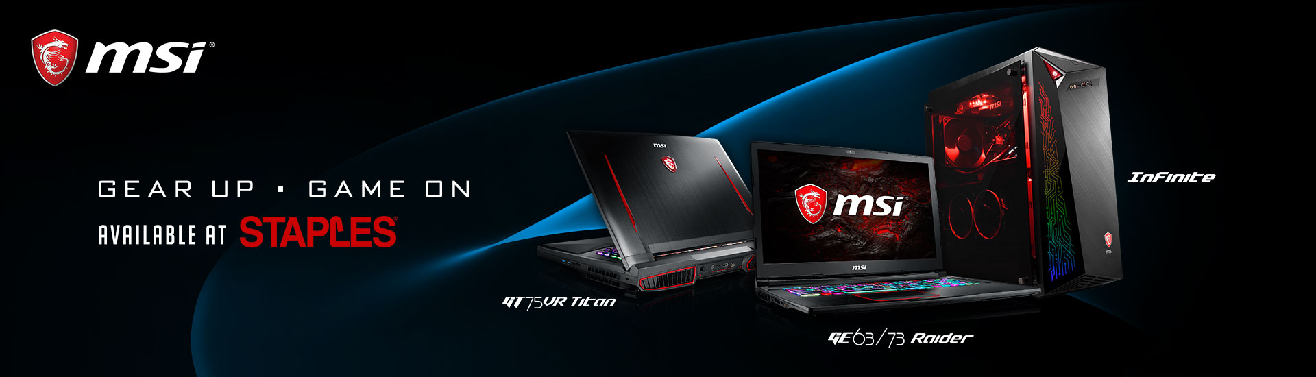 MSI now available at Staples.ca
