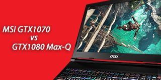 MSI GE Raider GTX1070 vs GTX1080 Max-Q