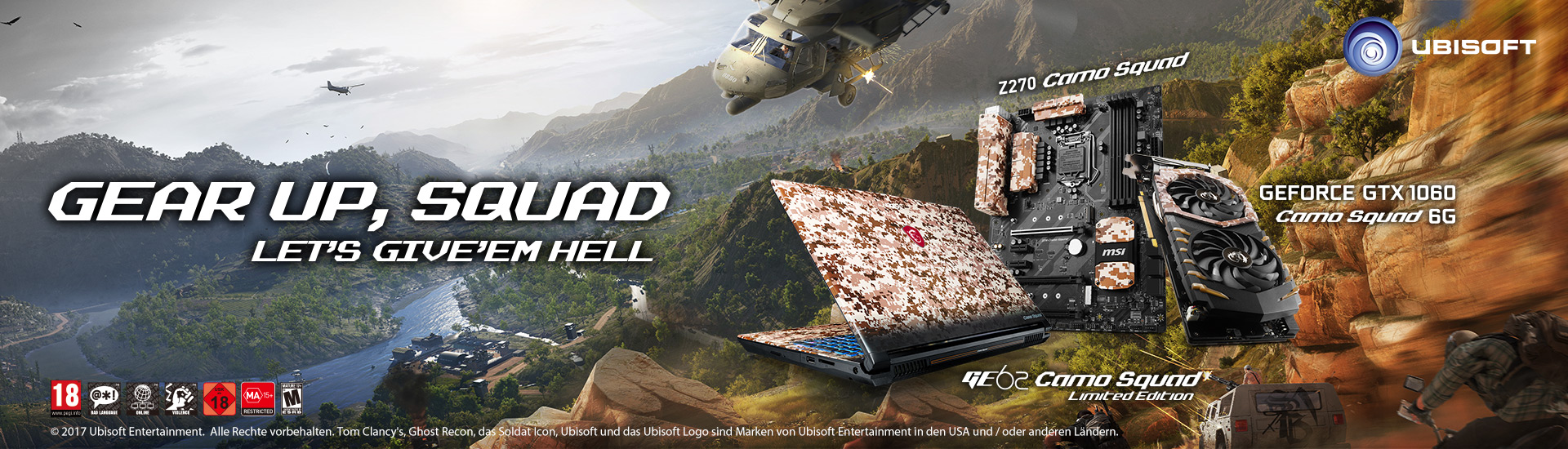 MSI Camo Squad Bundle