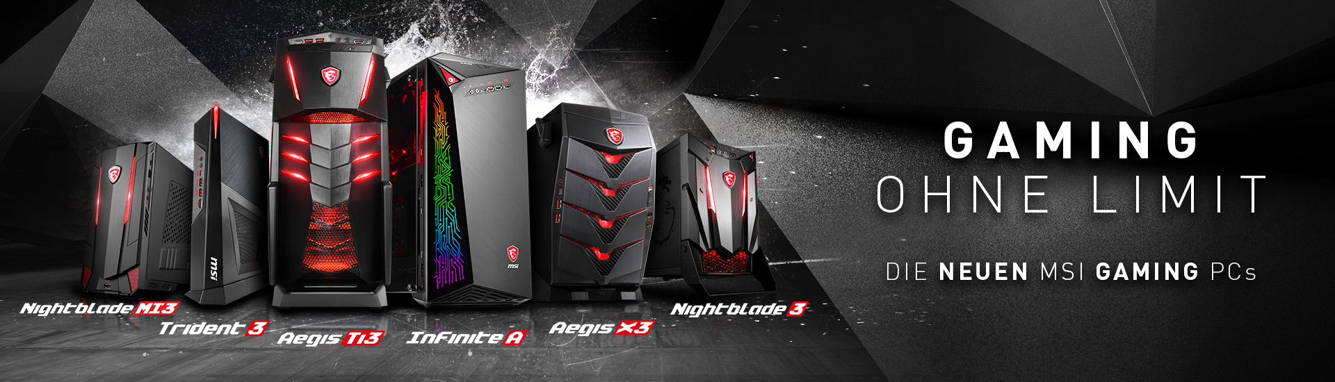 Gaming PC Line-up