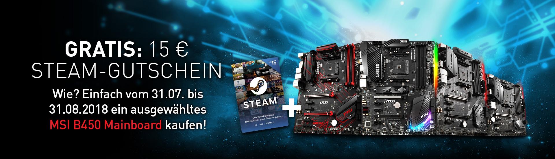 AMD B450 + Steam Gutschein