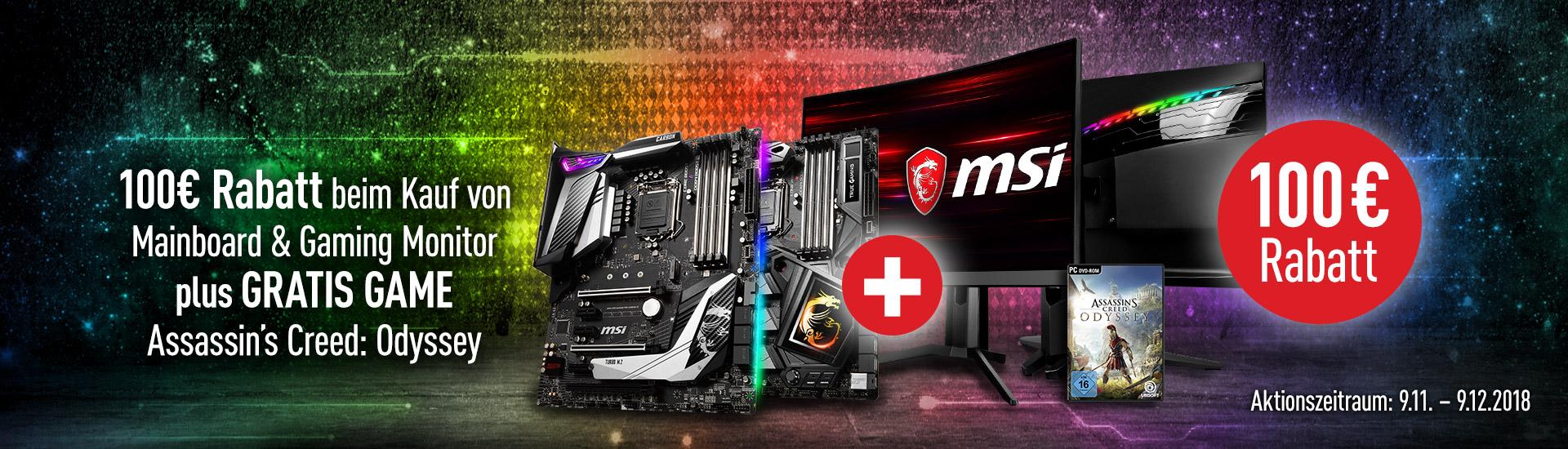 Rabatt für MSI MAG Curved Gaming Monitore