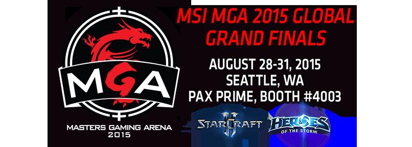 MSI Masters Gaming Arena 2015