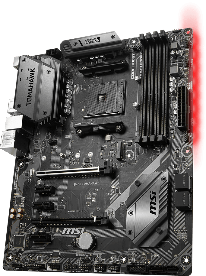 MSI B450 TOMAHAWK OVERVIEW