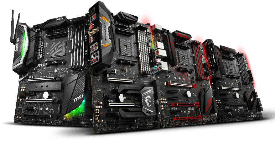 MSI X470 Motherboards