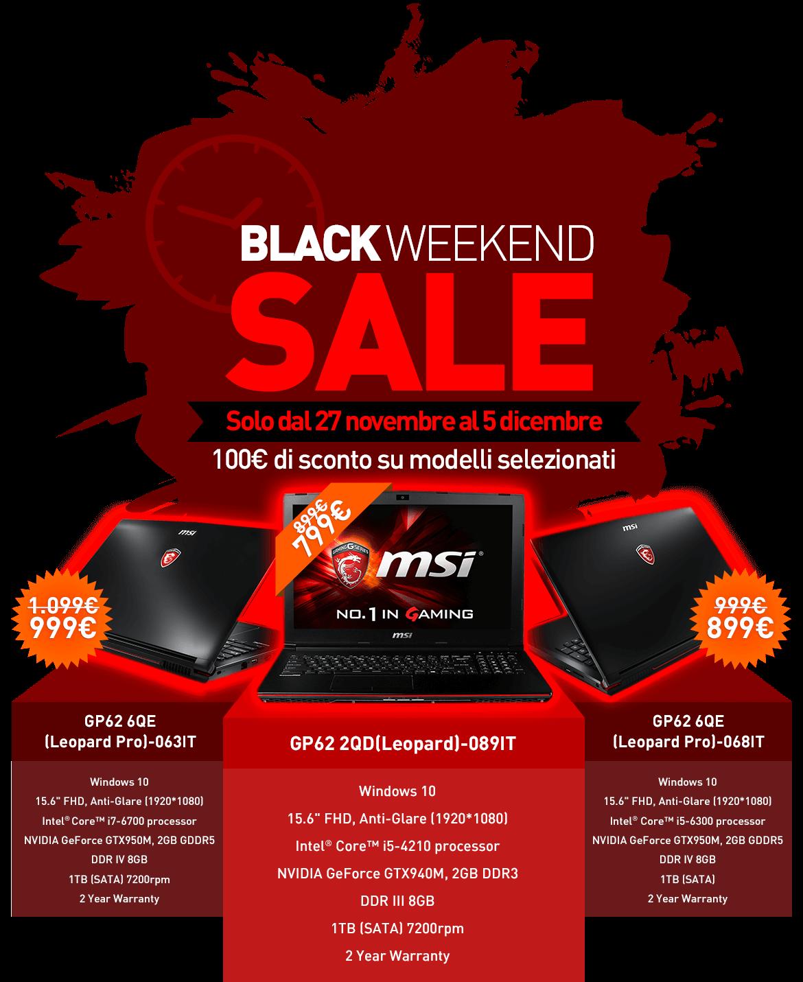 Ti9 Weekend Sale: BLACK WEEKEND SALE!