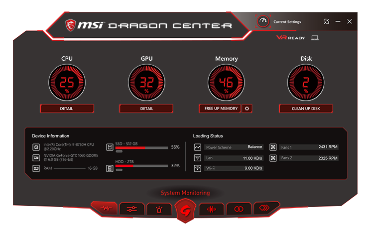 MSI GE63 8RF-467 GAMING NOTEBOOK 16
