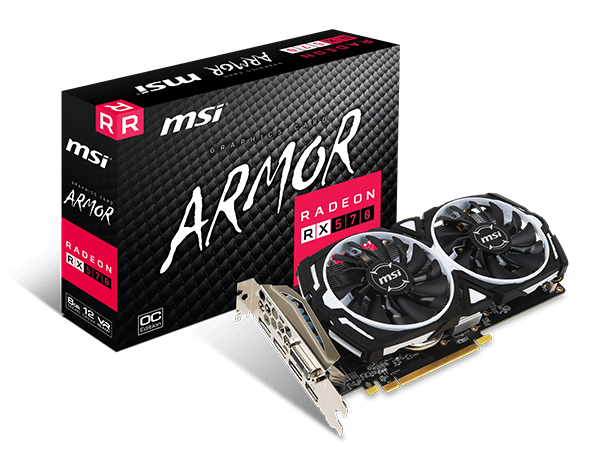 RX 570 ARMOR 8G OC