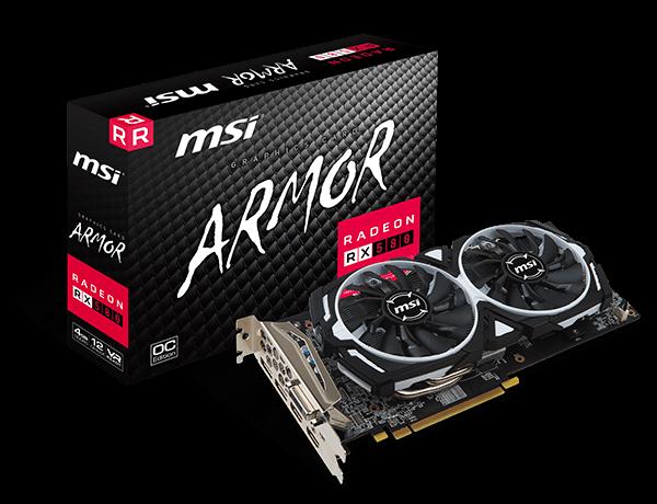 Radeon RX 580 ARMOR 4G OC