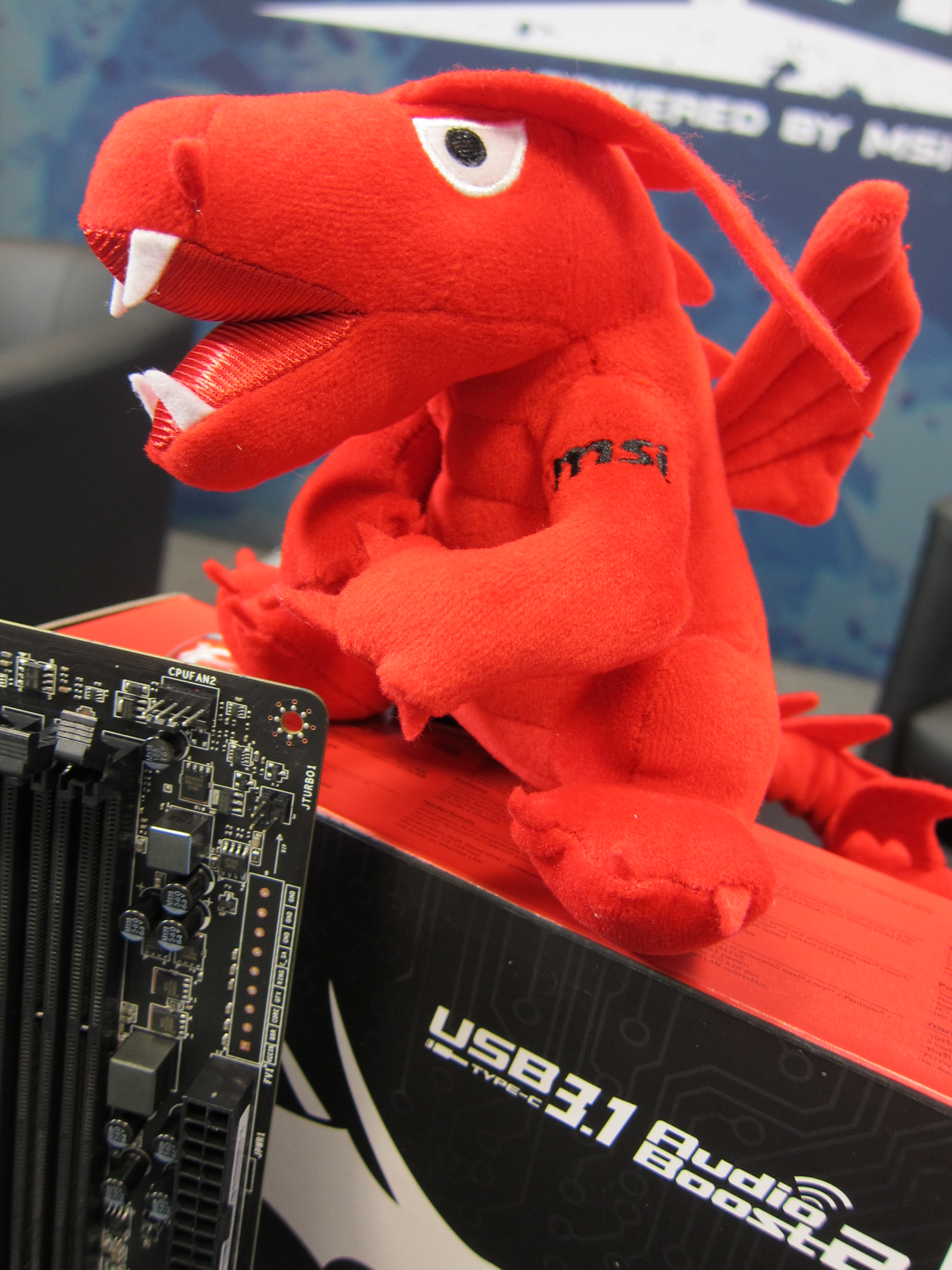 MSI Dragon Mascot