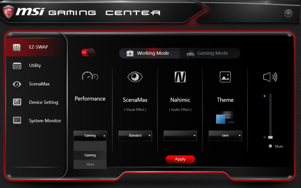 приложение Gaming App Msi скачать - фото 3