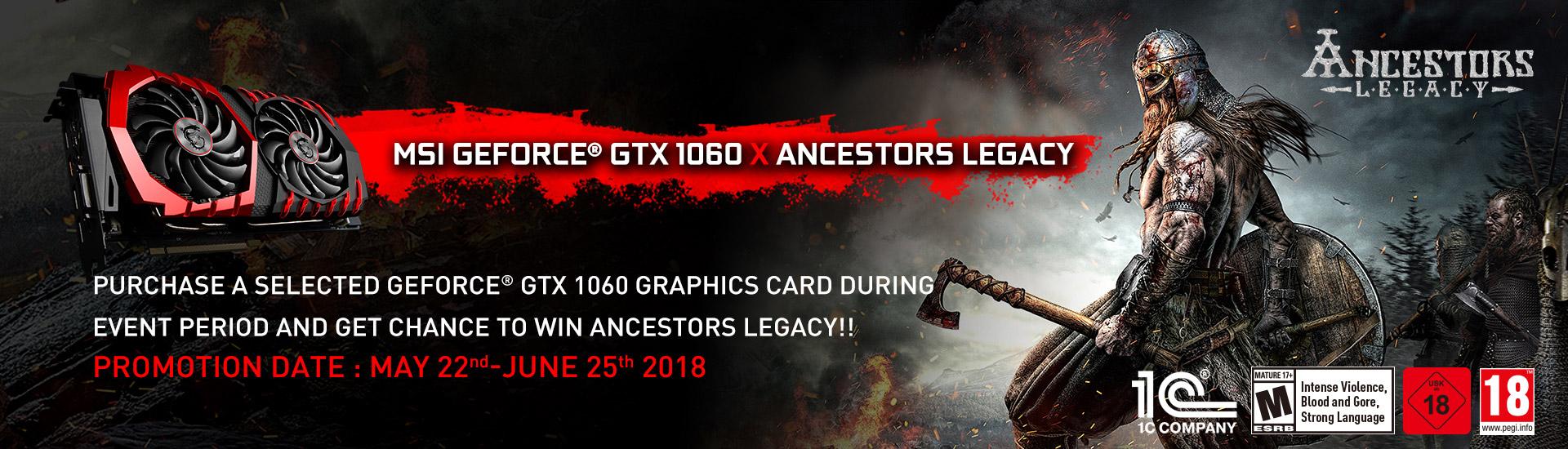 Geforce GTX 1060 X