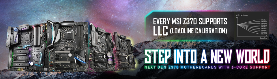 LLC, what is it and why are MSI Z370 motherboards the best
