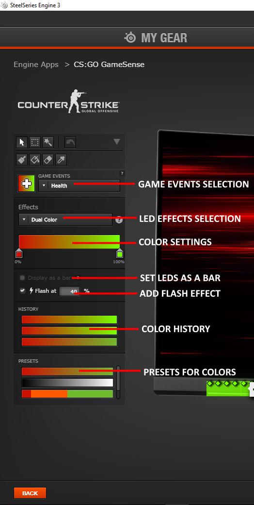 How to setup SteelSeries GameSense on the MSI Optix MPG series
