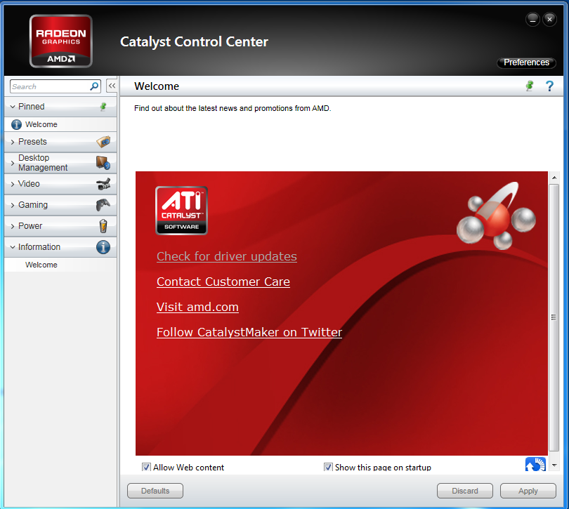 Drivers for MSI 870S-C45 (FX) Control Center