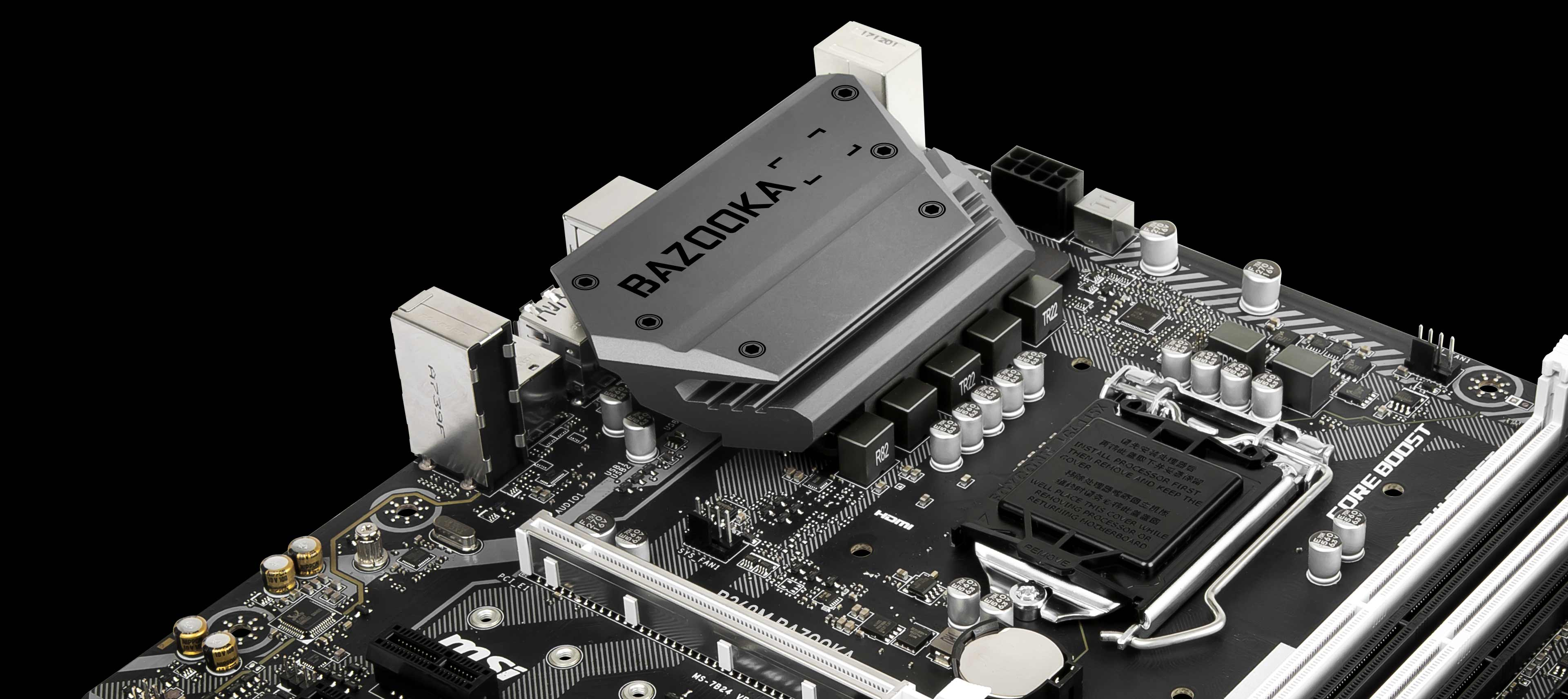 B360m Bazooka Motherboard The World Leader In Design Custom Cpu Gpu Processing Unit Enhanced Circuit Board Cooling Your Pc Is Essential For Reliable Performance Weve Made Sure To Include Enough Fan Headers With Full Control Allow You Cool System Any