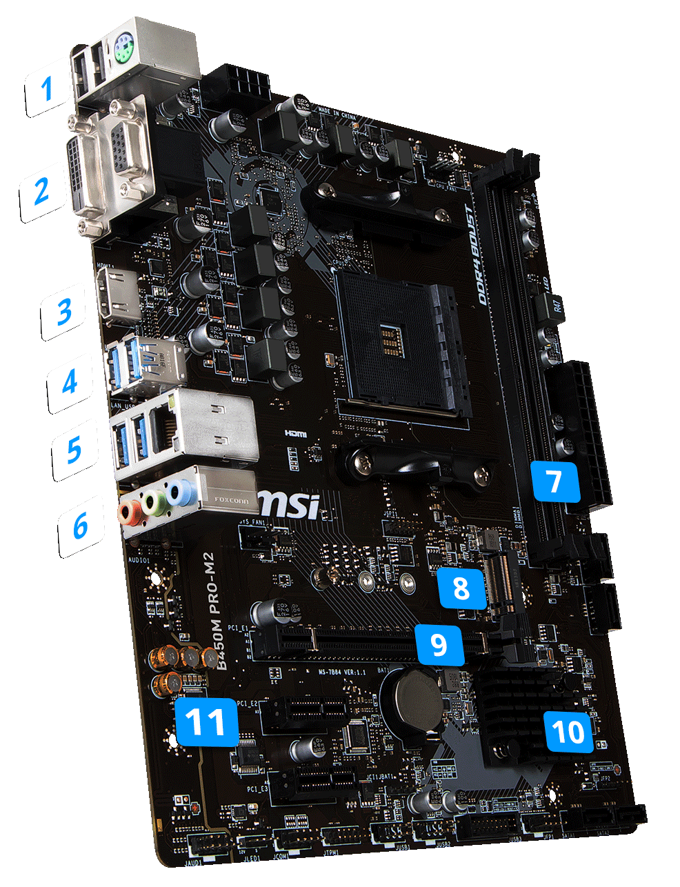 b450m pro m2 motherboard the world leader in motherboard design msi global. Black Bedroom Furniture Sets. Home Design Ideas