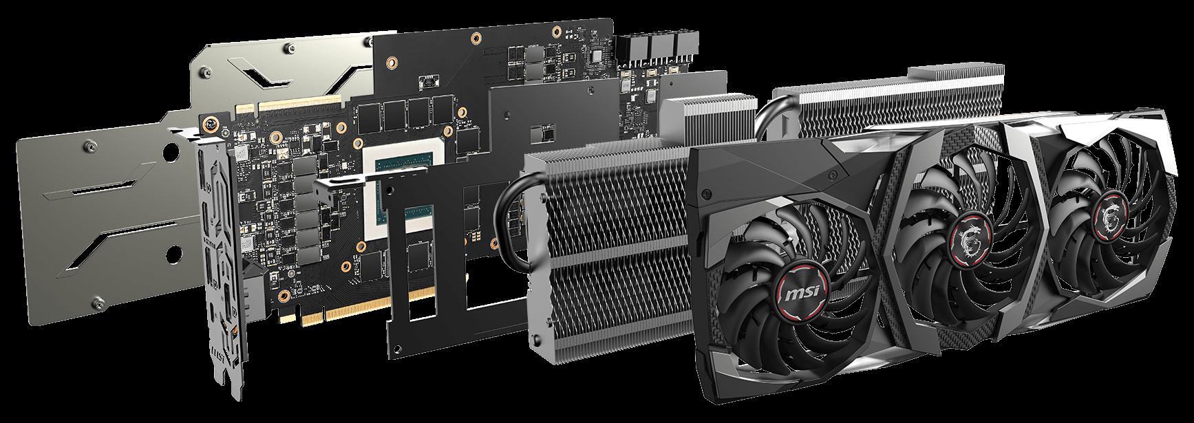 MSI GeForce RTX-2080-Gaming-X-TRIO Graphics Card | Techbuy