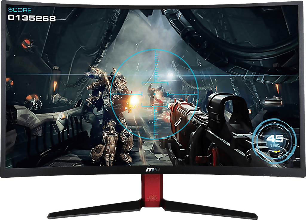 "MSI Optix AG32C 32"" Curved FHD 165Hz Gaming LCD 18"