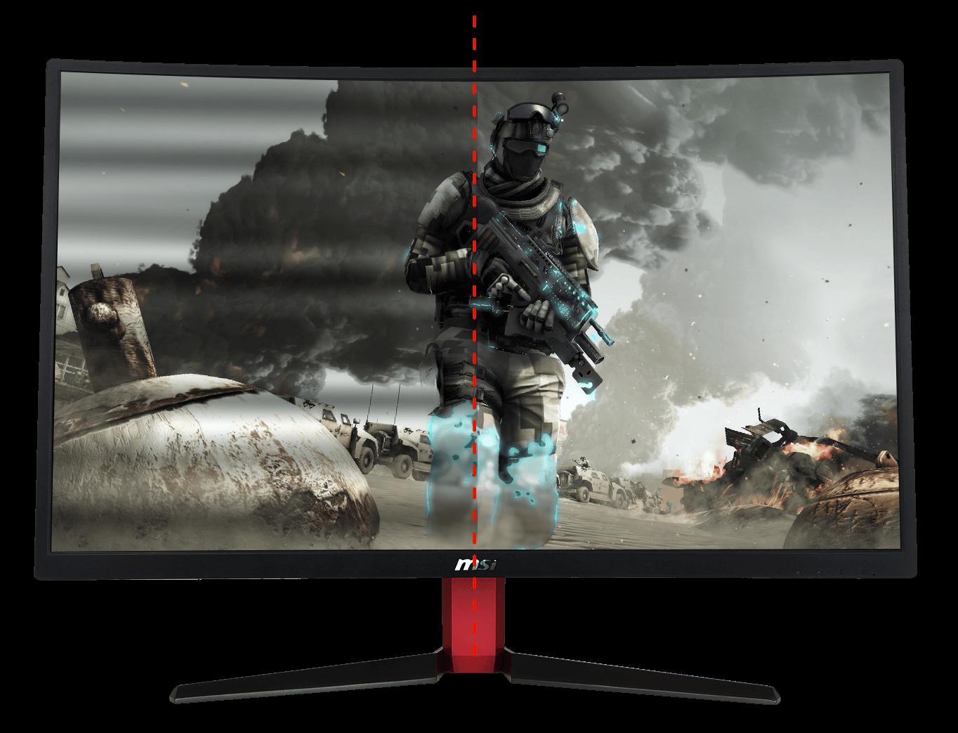 MSI OPTIX G24C Full HD Gaming Monitor