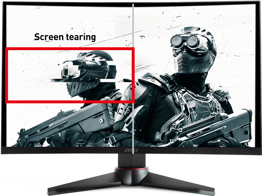 MSI Optix MAG32CQ screen tearing