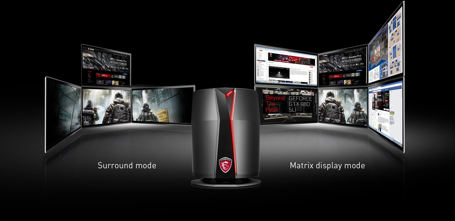کامپیوتر دسکتاپ مخصوص بازی ام اس آی مدل Vortex G65VR 6RE