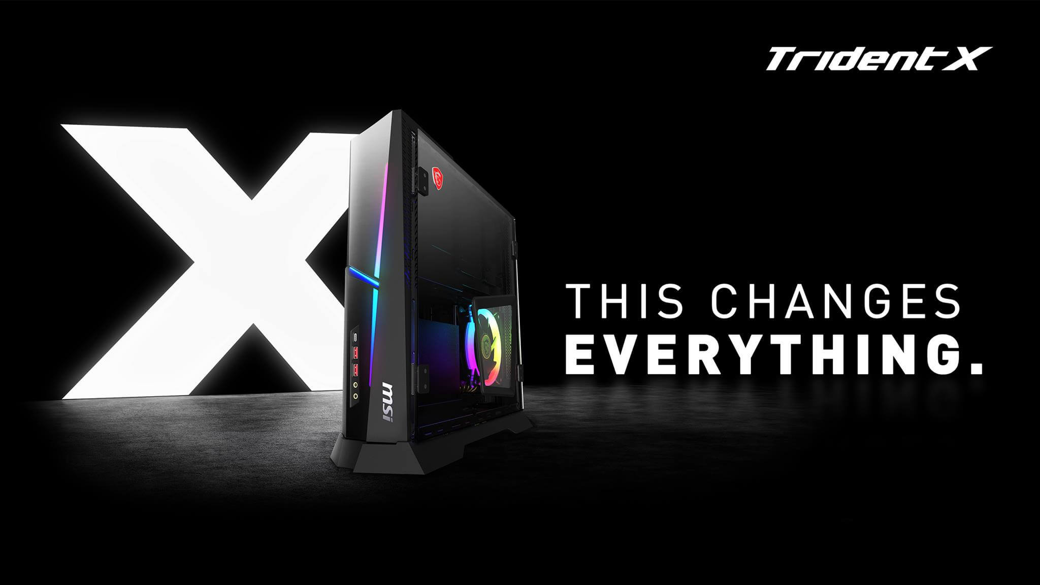 Msi Trident X A Slim And Super Powerful Gaming Pc
