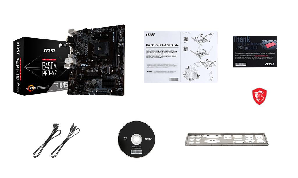 Specification for B450M PRO-M2 | Motherboard - The world leader in