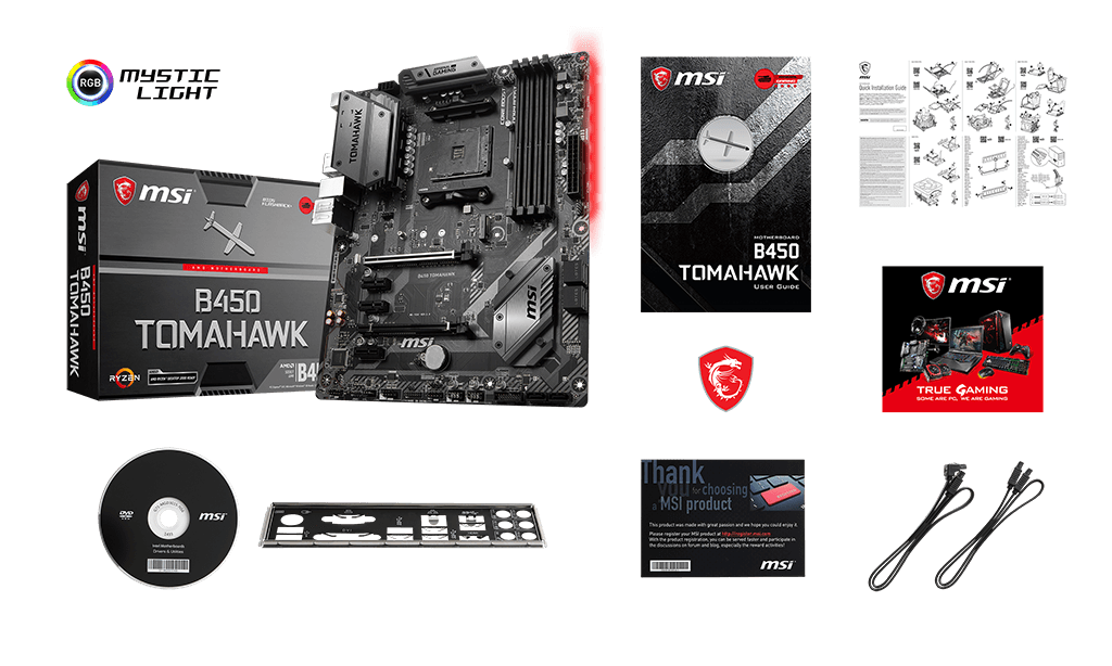 Specification for B450 TOMAHAWK | Motherboard - The world