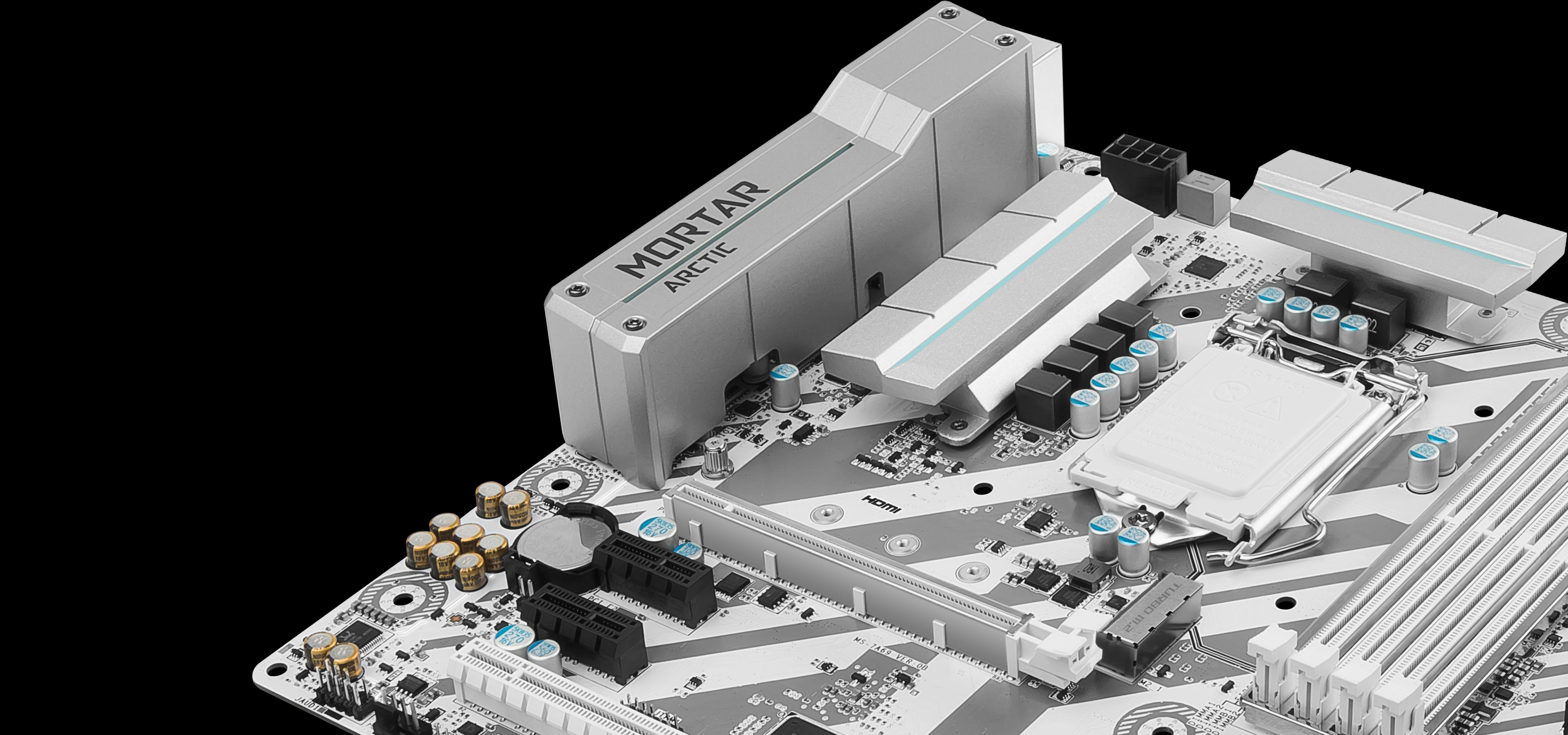 MSI B250M MORTAR ARCTIC Gaming Motherboard