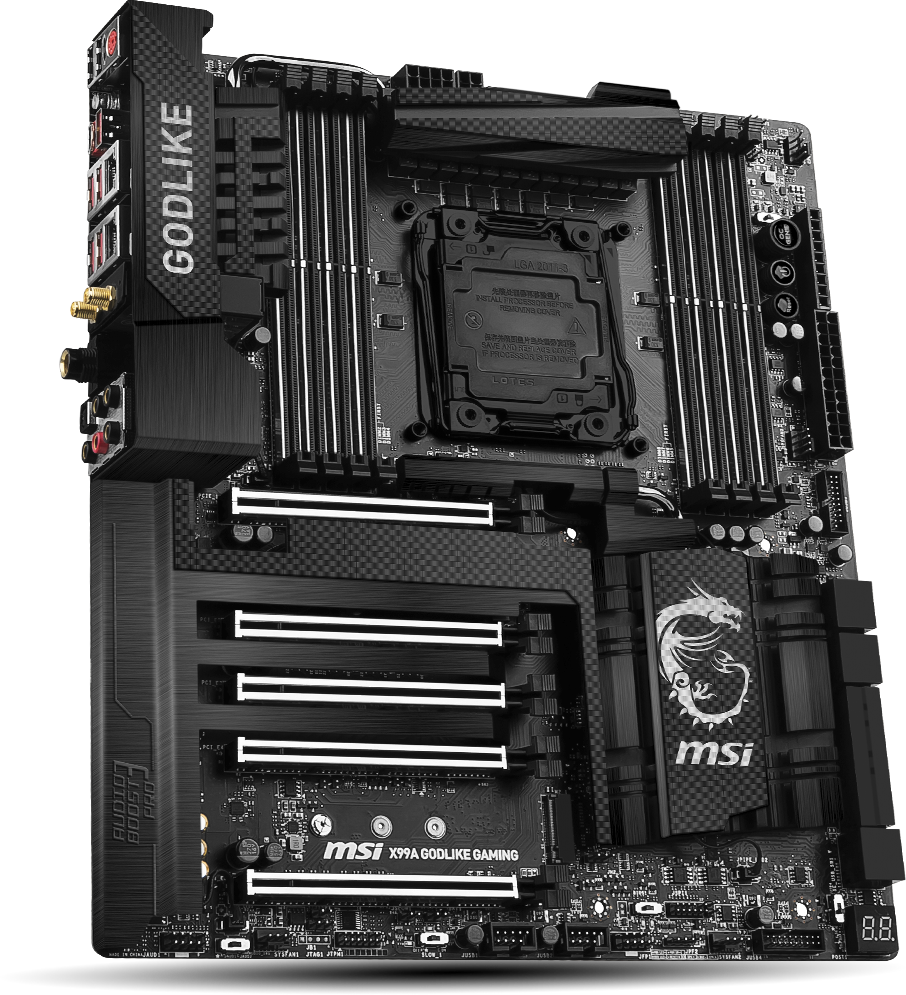 Image result for MSI X99A GODLIKE GAMING CARBON