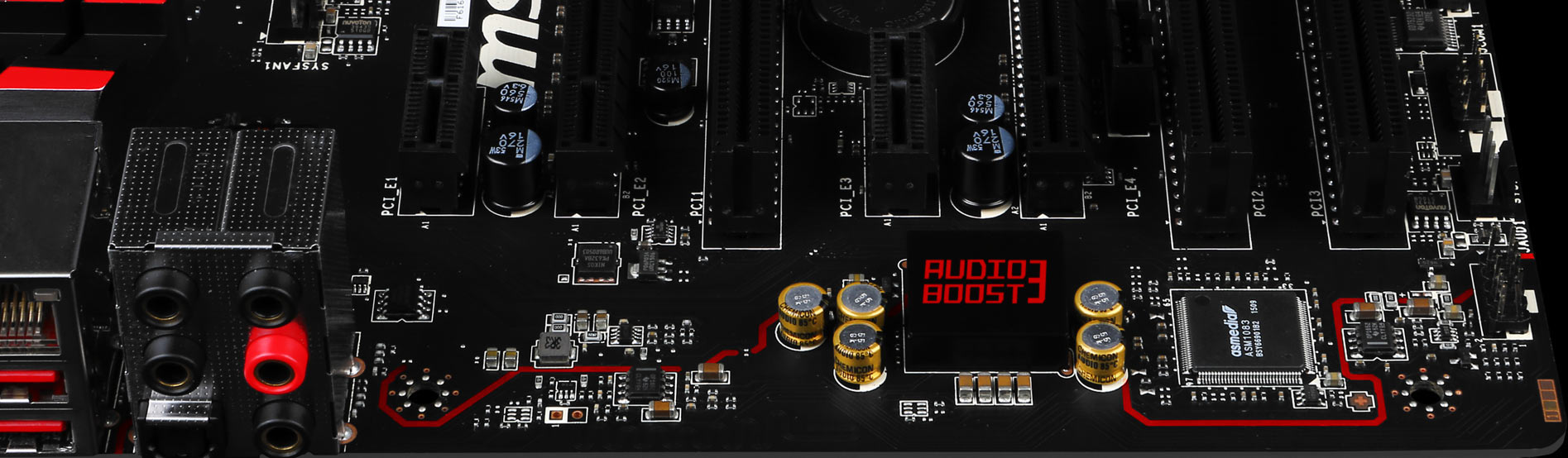 audioboost pcb top overview for z170a gaming m5 msi usa  at mifinder.co