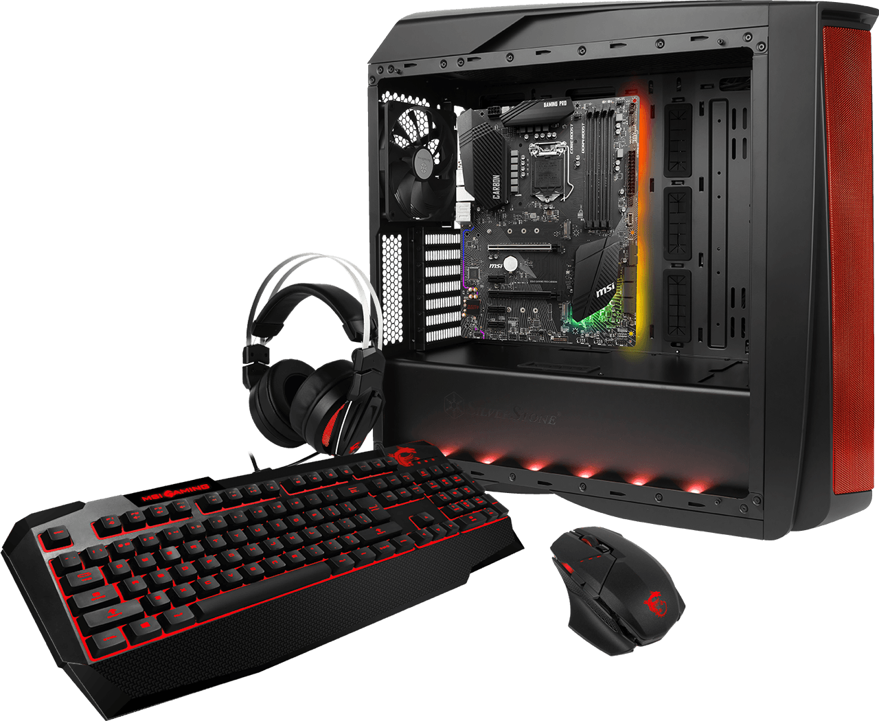 MSI B360 GAMING PRO CARBON Mystic Light