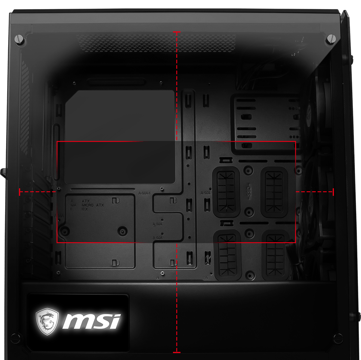 MSI MAG BUNKER TOWER CASE