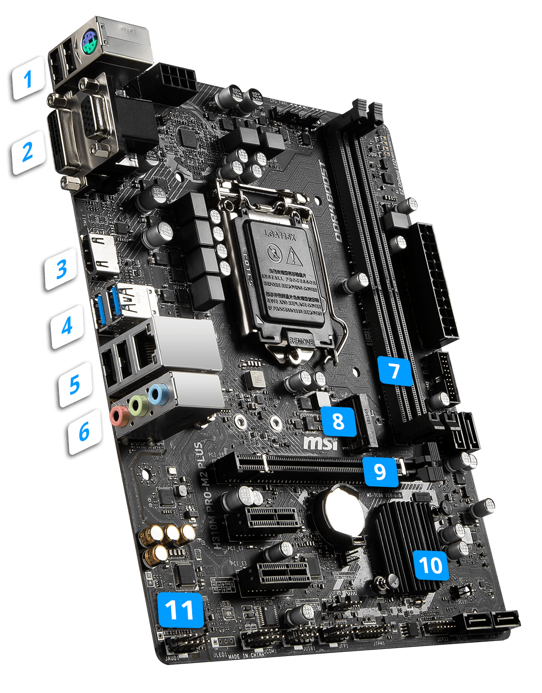 MSI H310M PRO-M2 PLUS overview