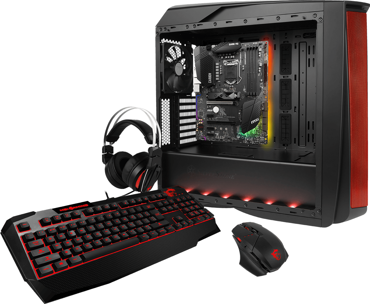 MSI H370 GAMING PRO CARBON Mystic Light
