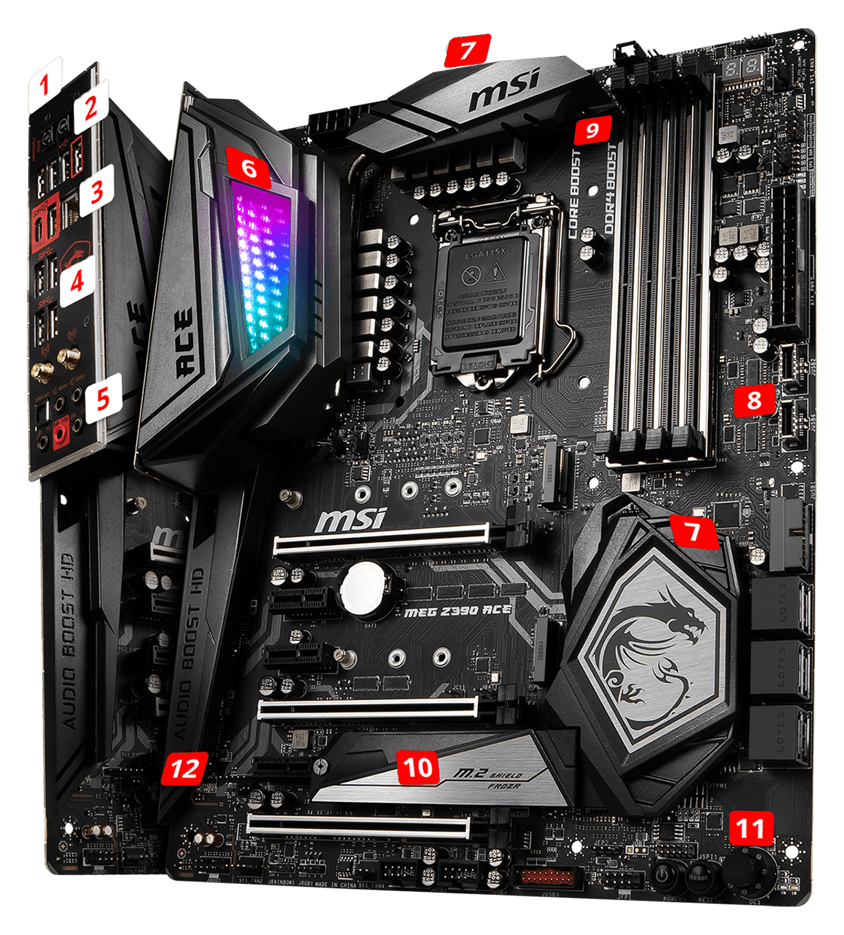 MSI MEG Z390 ACE overview