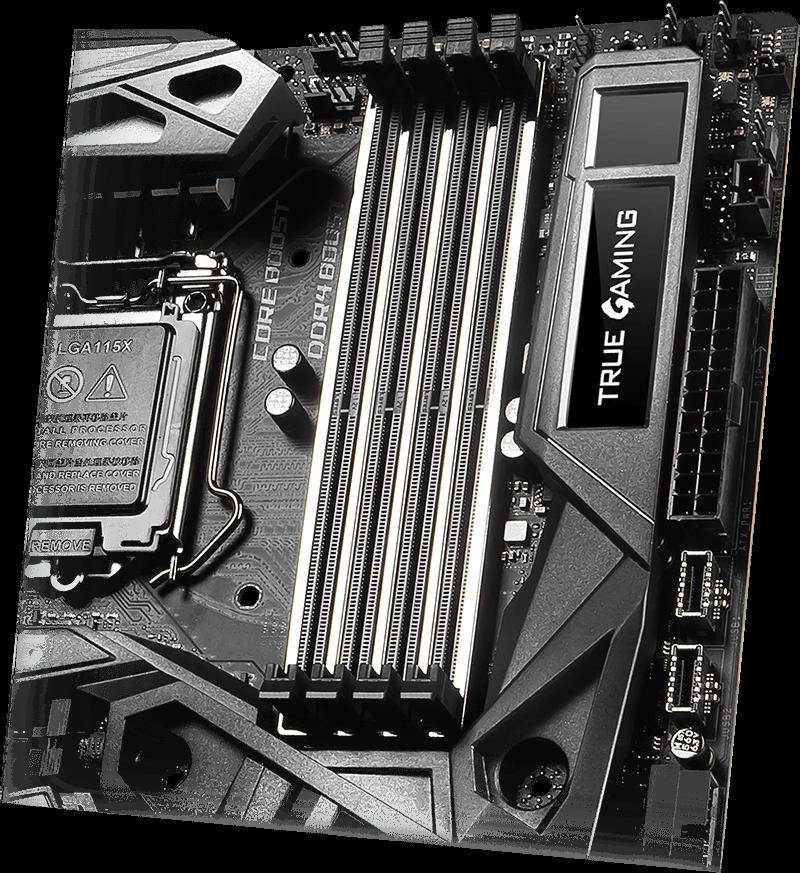 MSI MEG Z390 GODLIKE Dynamic dashboard