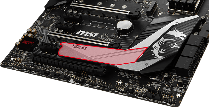 MSI Z390 M.2 Shield FROZR