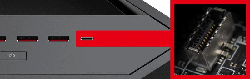 Front USB 3.1 Gen2 Type-C
