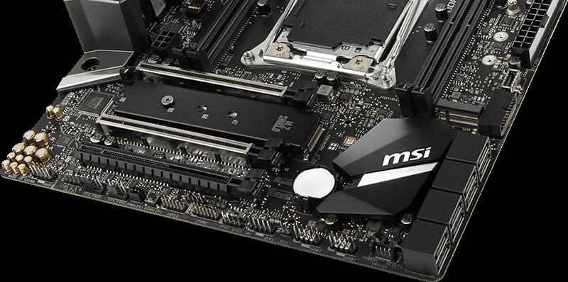MSI X299 M.2 Shield