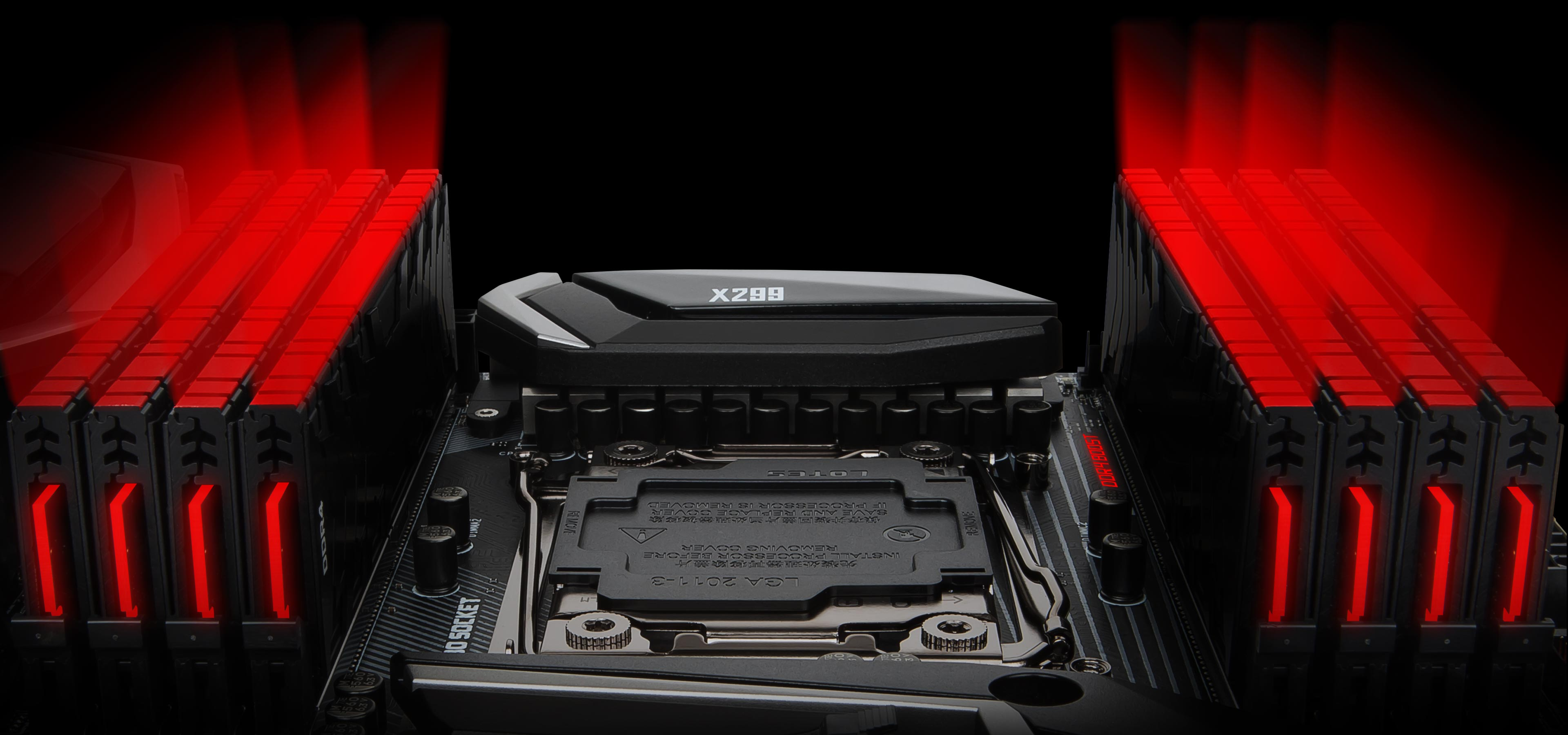 MSI X299 Gaming Pro Carbon AC LGA 2066 ATX Motherboard
