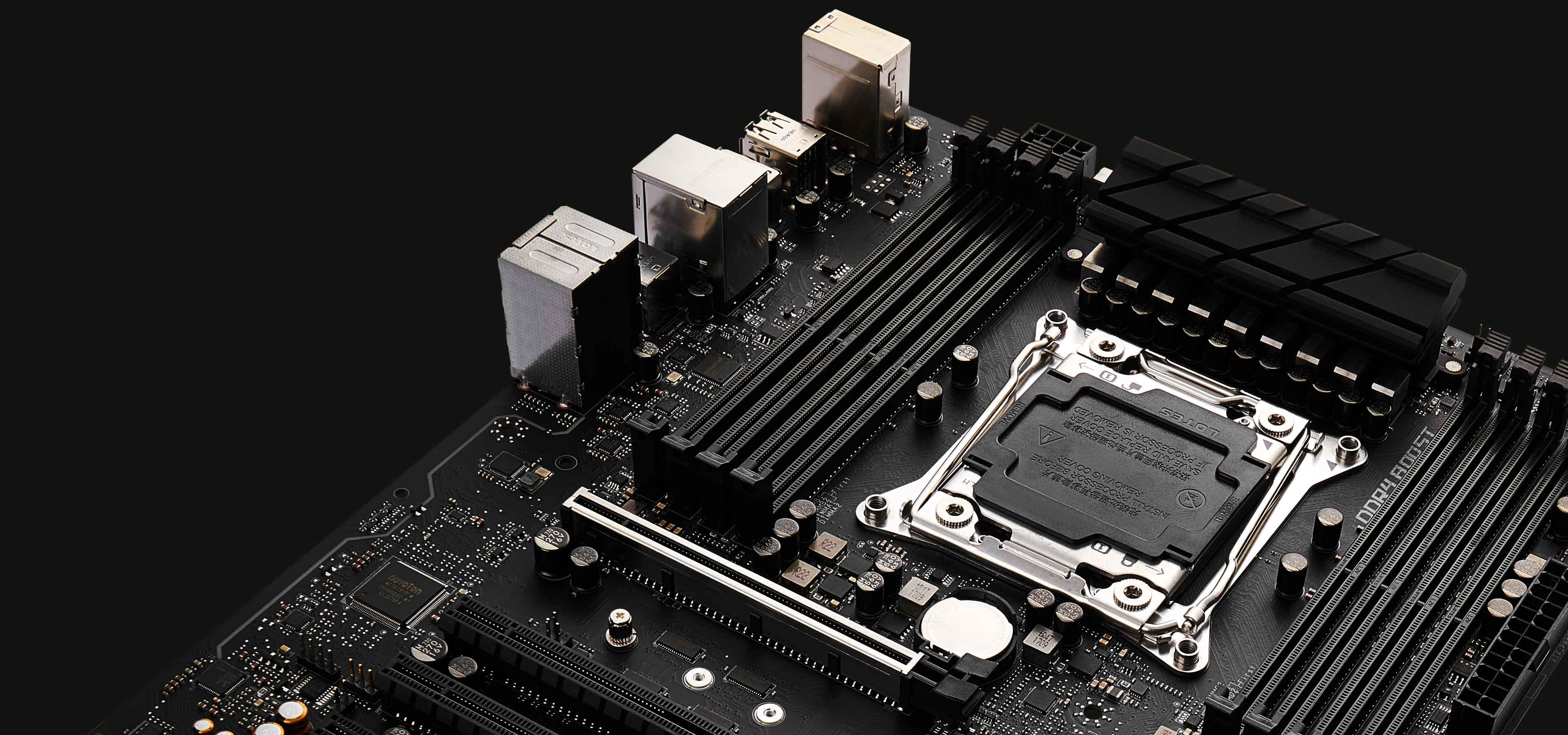 For Neat HighEnd PC Build MSI X299 RAIDER Motherboard MSI Global