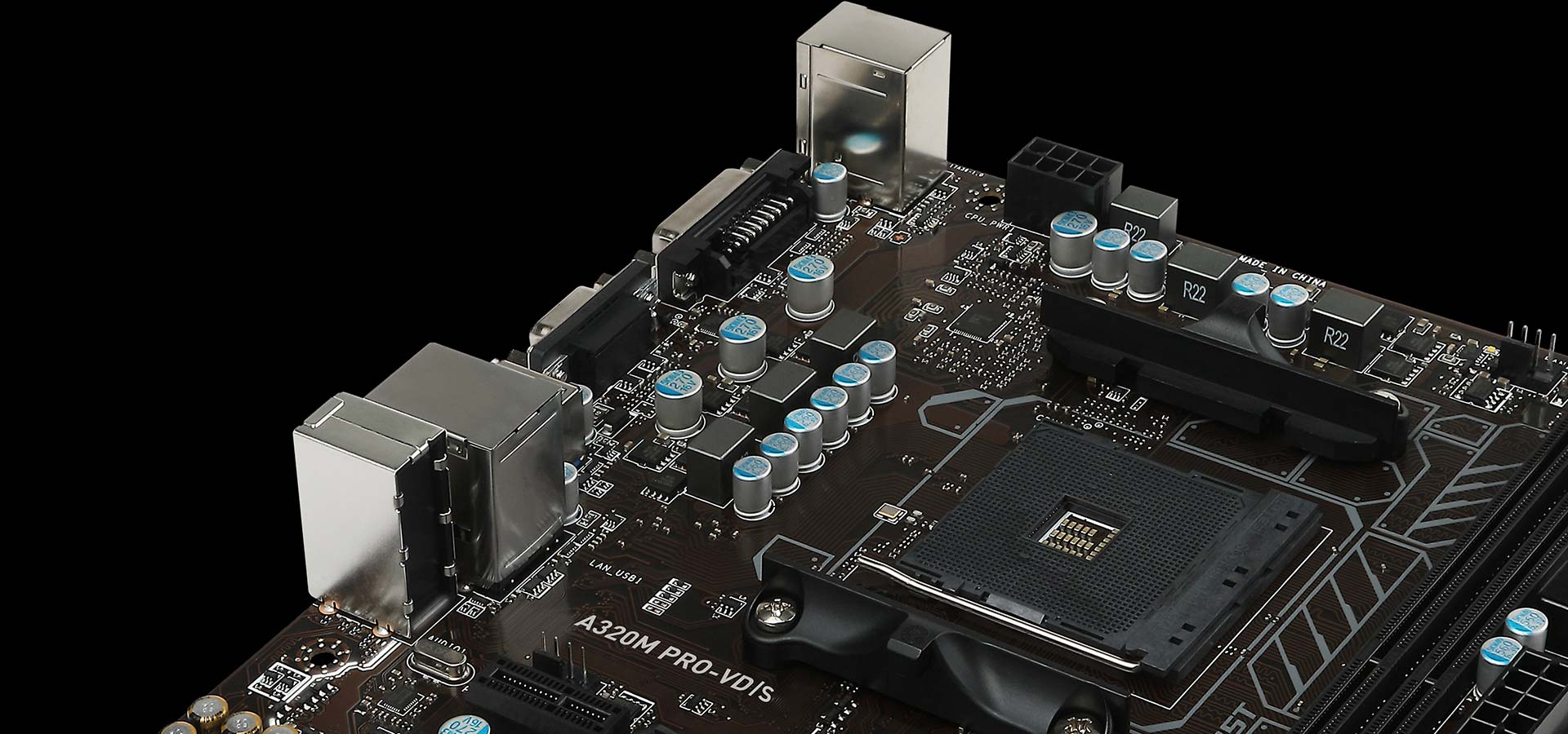 Mainboard MSI A320M Pro-VD/S