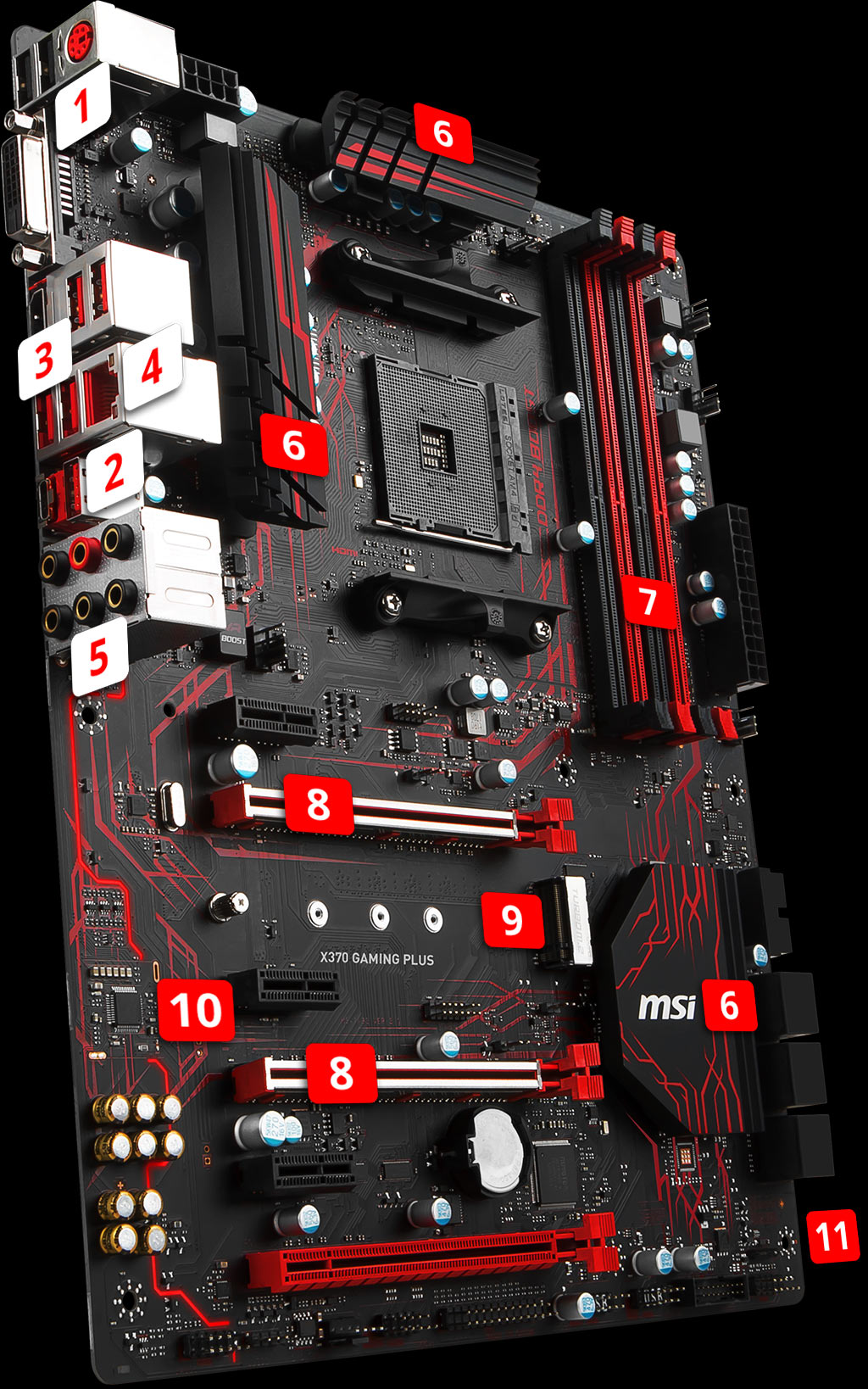 X370 Gaming Plus Motherboard The World Leader In