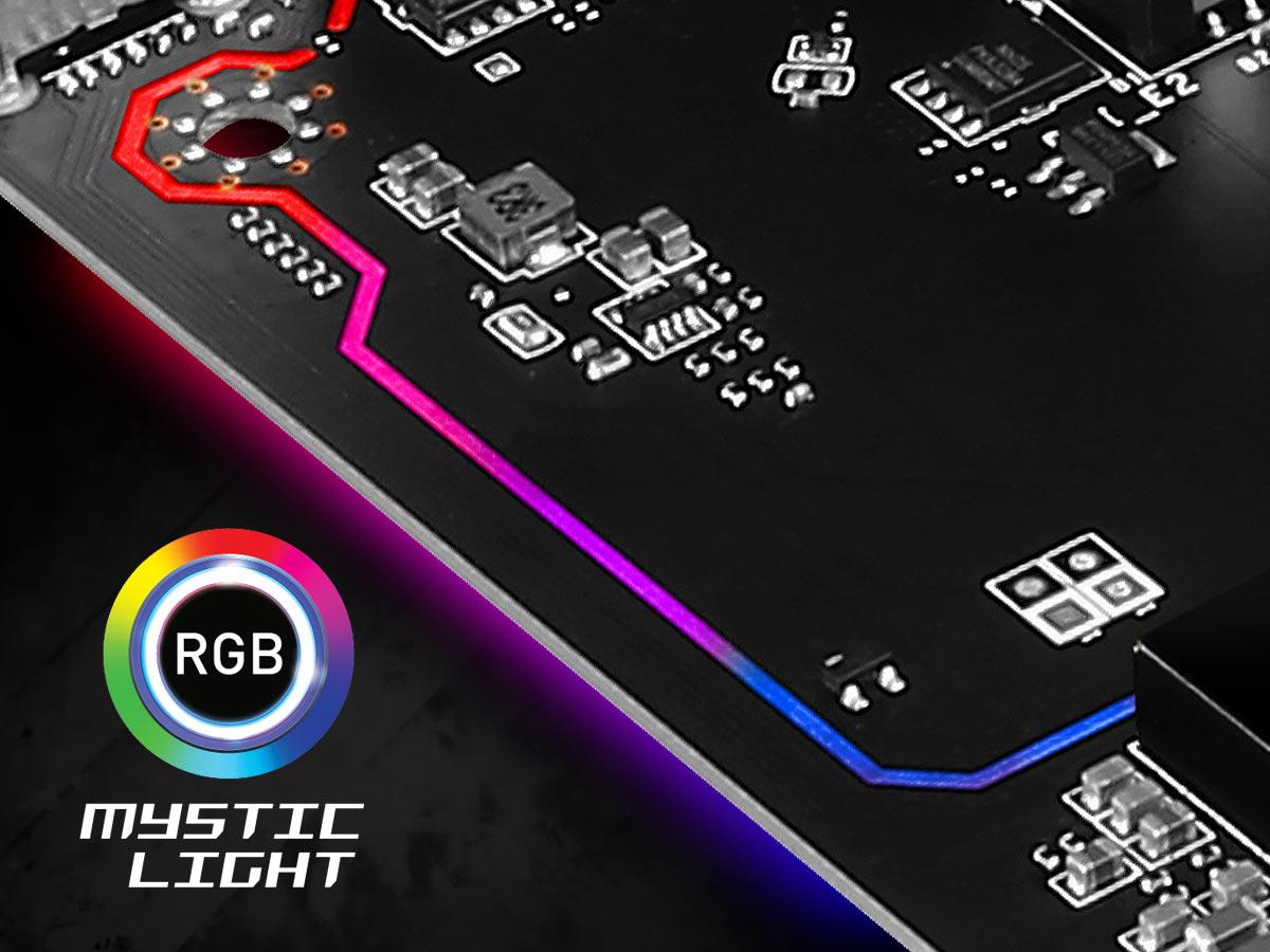 RGB LED border