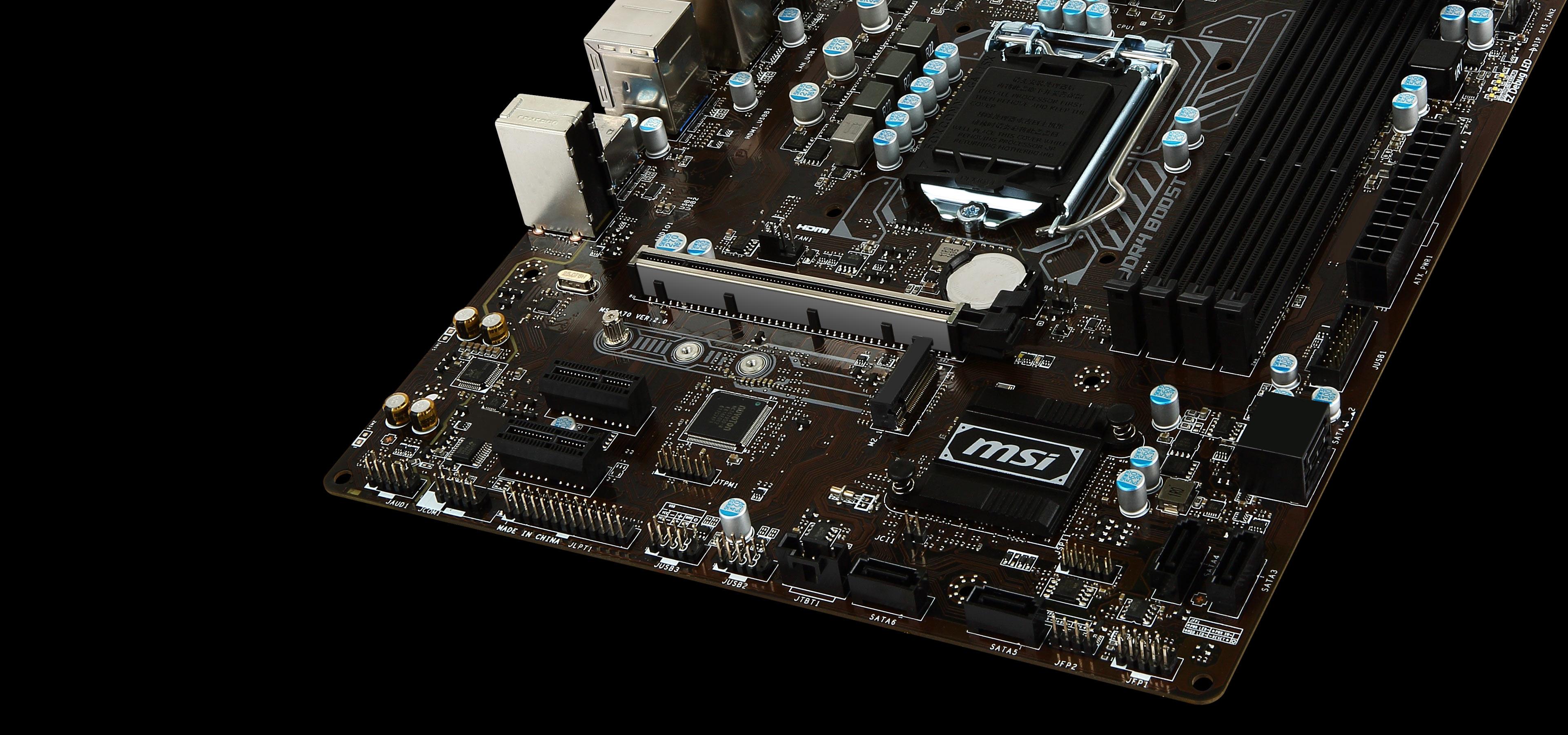 MSI B250M PRO-VDH Pro Series LGA 1151 DDR4 HDMI USB 3.1