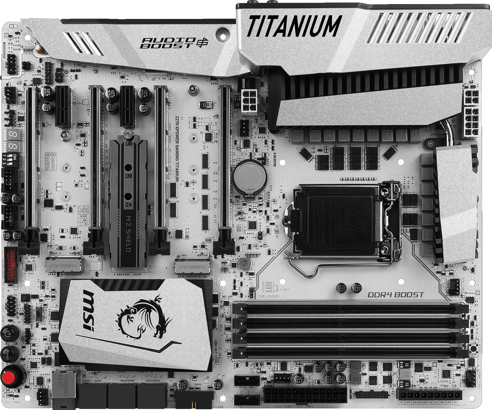 MSI Z270 Xpower Gaming Titanium LGA1151 ATX Motherboard