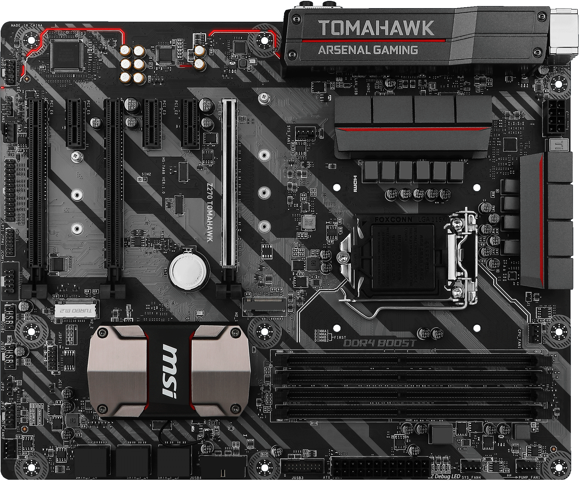 Z270 Tomahawk Motherboard The World Leader In Design Usb Wire Diagram Tuning